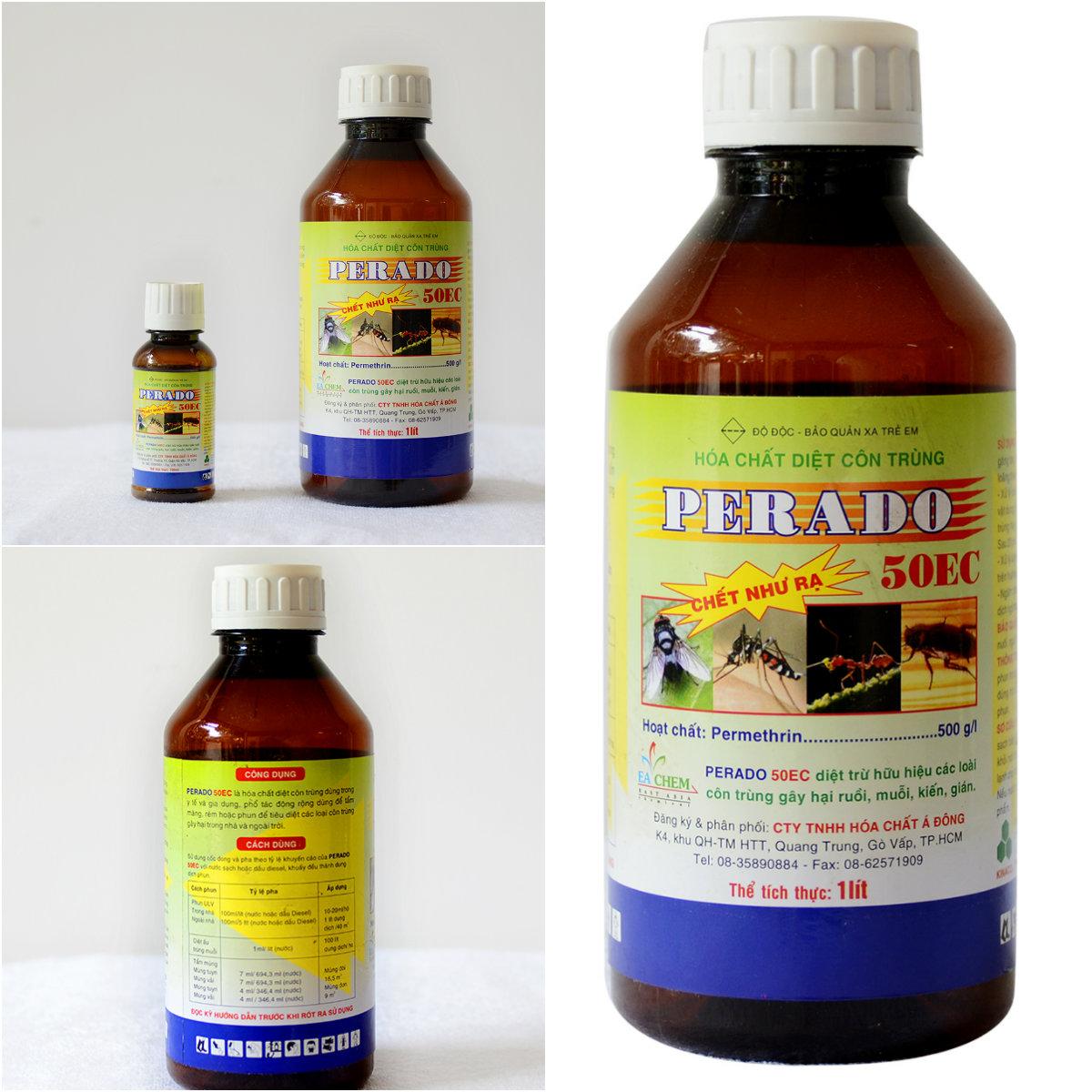 cung cấp Thuốc Diệt Côn Trùng PERADO 50EC sản xuất tại Việt Nam tại nhà quận 3, và các quận tại tphcm. Lh: 0908145811 Ms nhàn