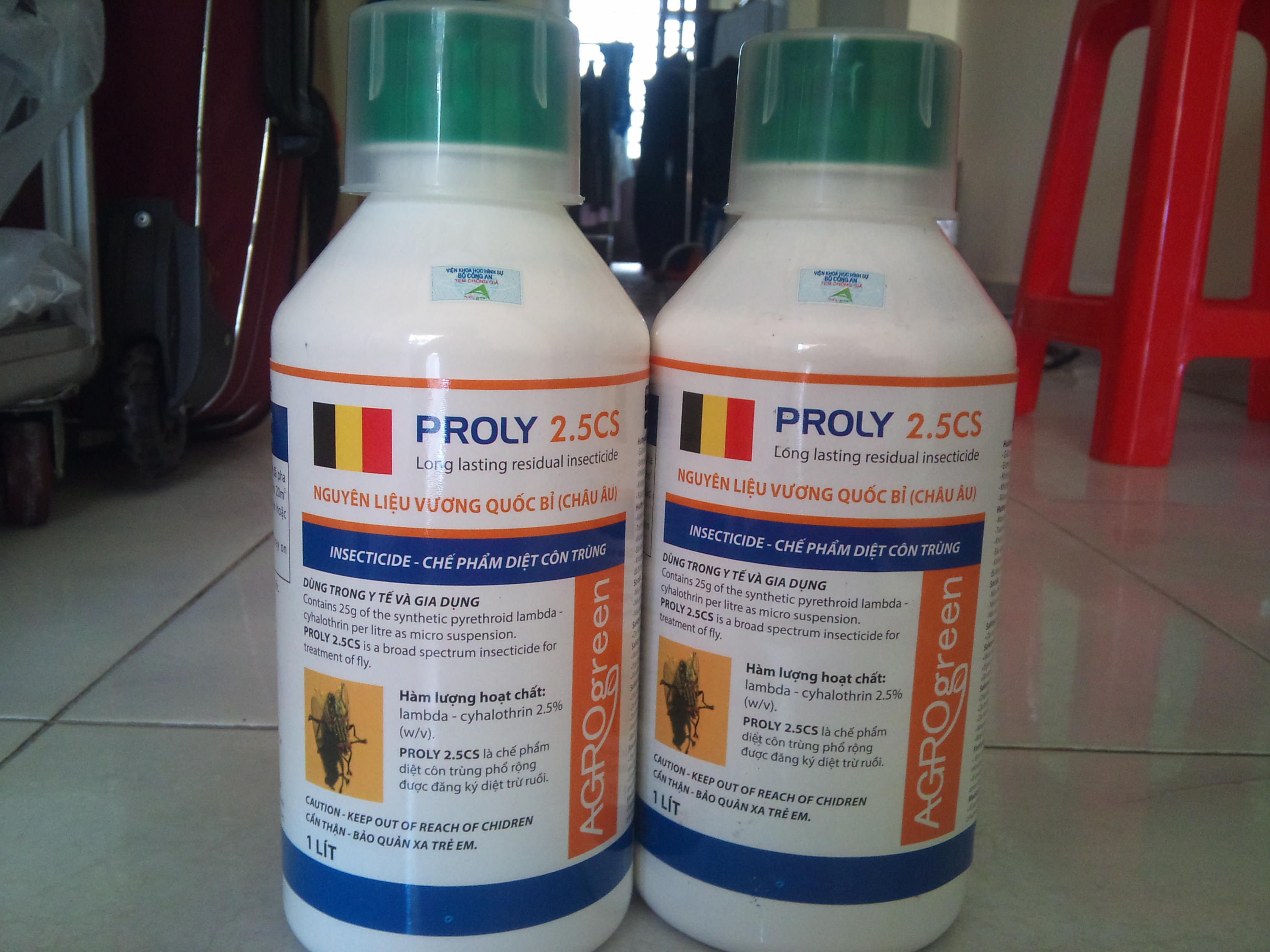 Thuốc Đặc Trị Ruồi Proly 2.5 Cs chai 1 lít
