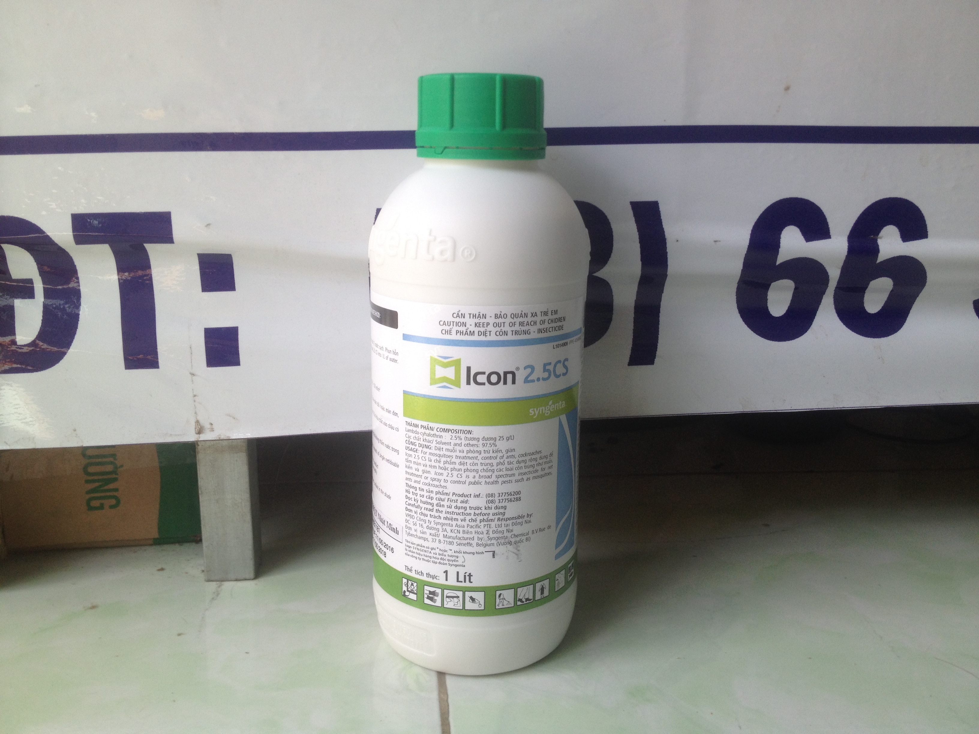 Thuoc diet muoi - con trung icon 2.5 cs nhan xanh