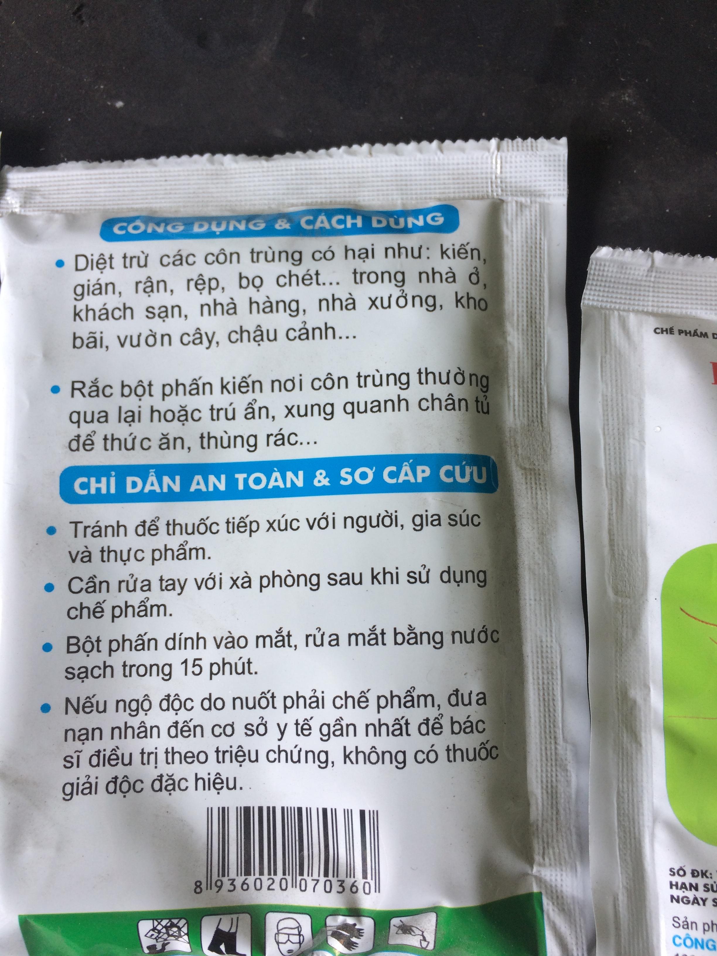 Mat Sau Phan Diet Kien, Con Trung ViPesCo