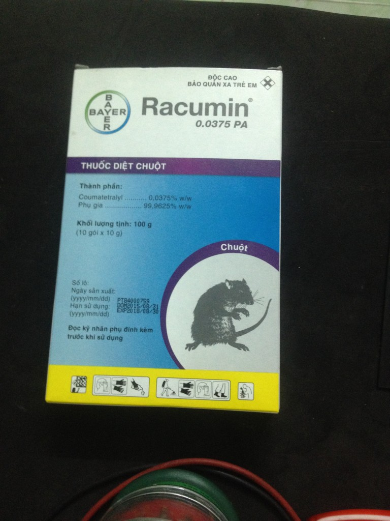ban thuoc diet chuot Racumin® Paste