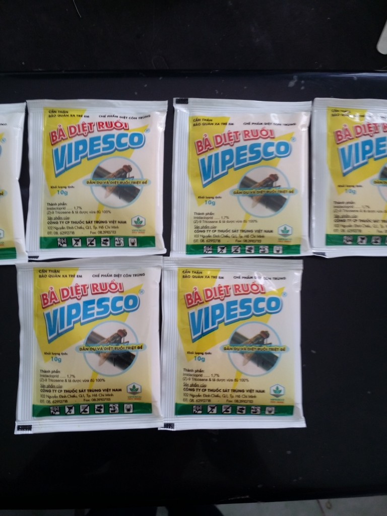 ba diet ruoi vipesco