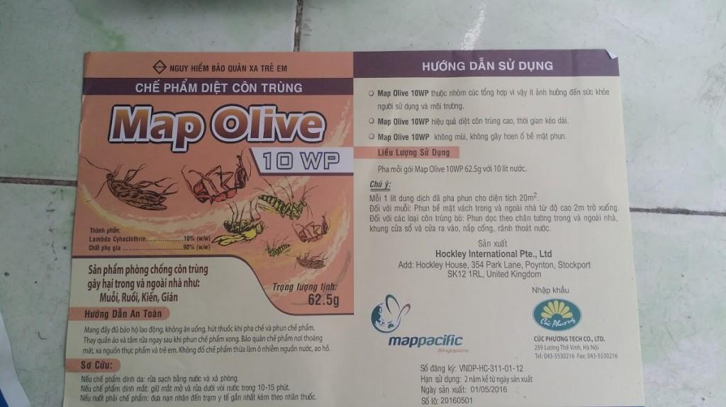 Huong Dan Su Dung Map Olive 10 WP