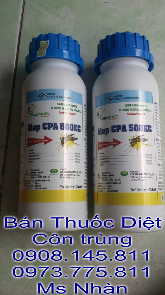 Ban Thuoc Diet Con Trung Map CPA 500 Ec