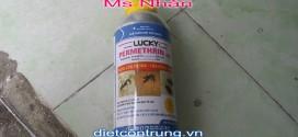 Thuốc Diệt Côn Trùng LUCKY PERMRTHRIN 50 EC chai nhom