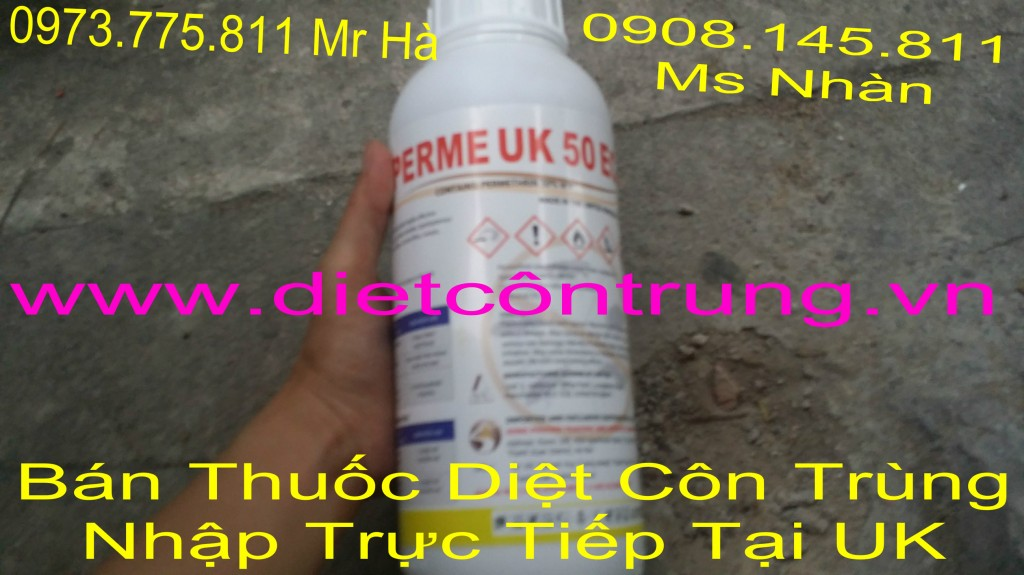 Ban Thuoc Diet Con Trung Perme UK 50 Ec nhap truc tiép tai anh quoc
