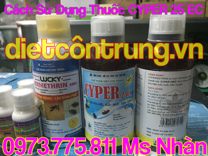 Thuoc Diet Con Trung CYPER 25 EC Gia Re