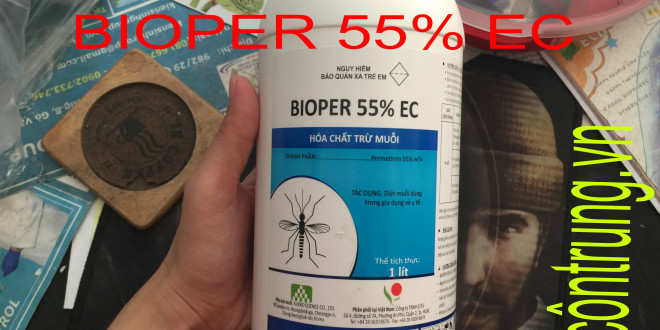 Bán Thuốc Diệt Muỗi BIOPER 55% Ec