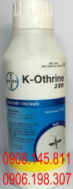 Ban Thuoc Diet Muoi K - Othrin 2 Ew